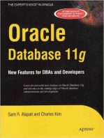 Oracle Database 11g: New Features for DBAs and Developers by Sam Alapati and Charles Kim